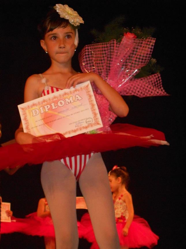 Brândușa premiata la Ballet Art