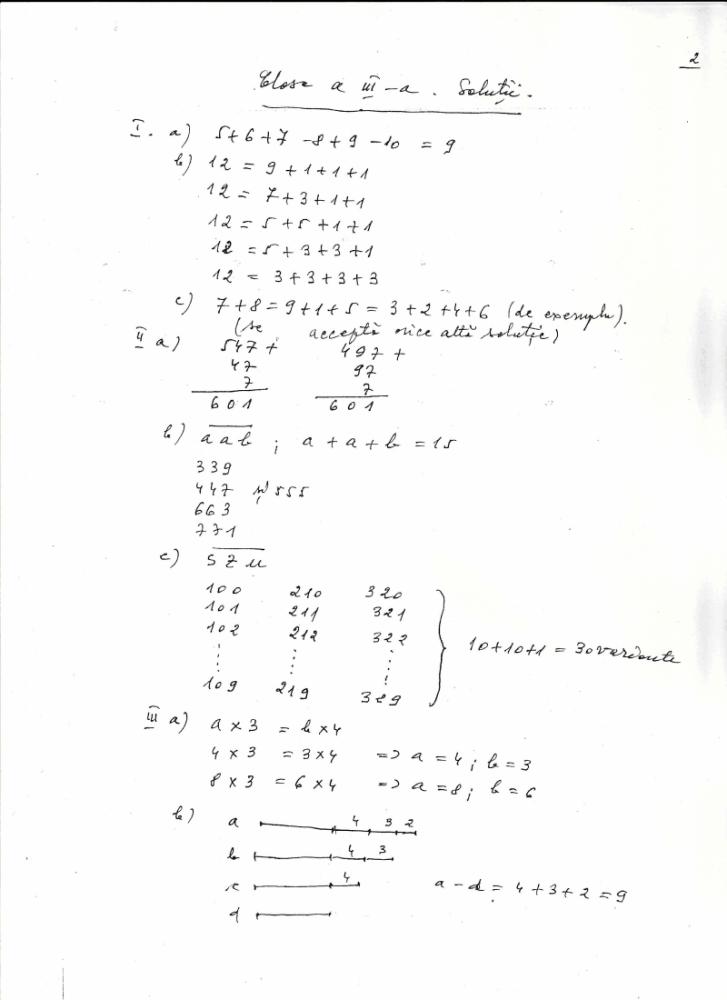 Subiecte/ rezolvare-  Arhimede (2/2)