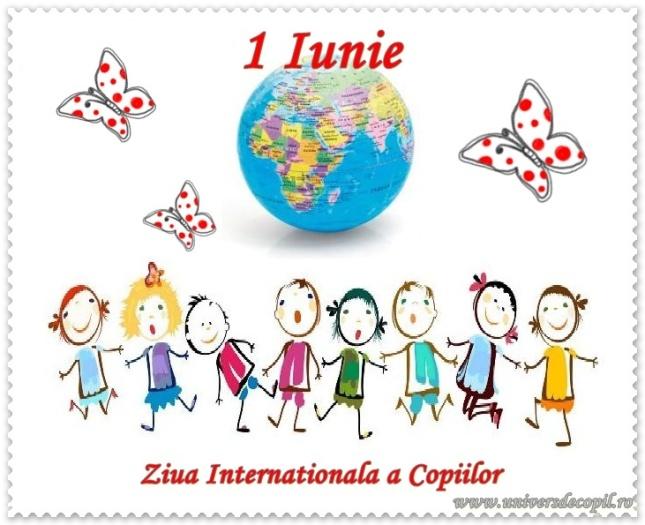 1 iunie bucurie ziua copiilor felicitari